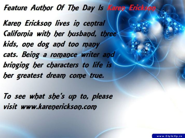 Wednesday Feature Author